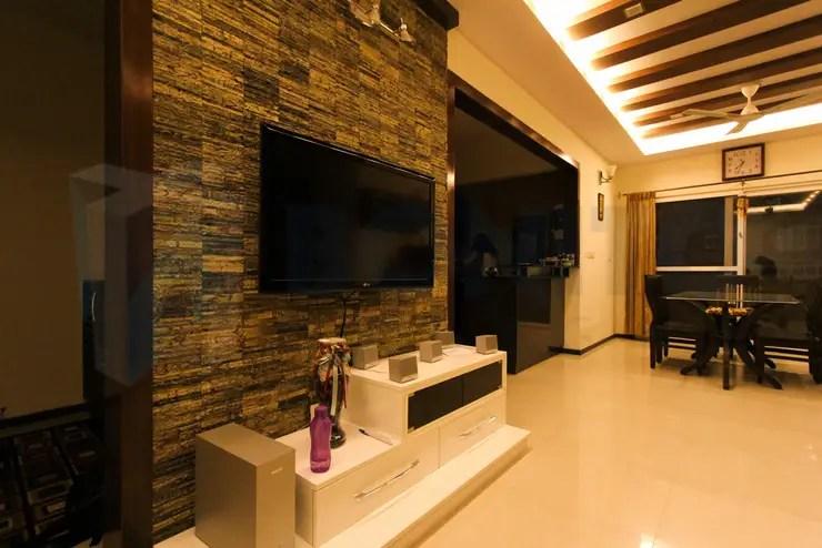 11 Ideas fabulosas para decorar la pared del televisor