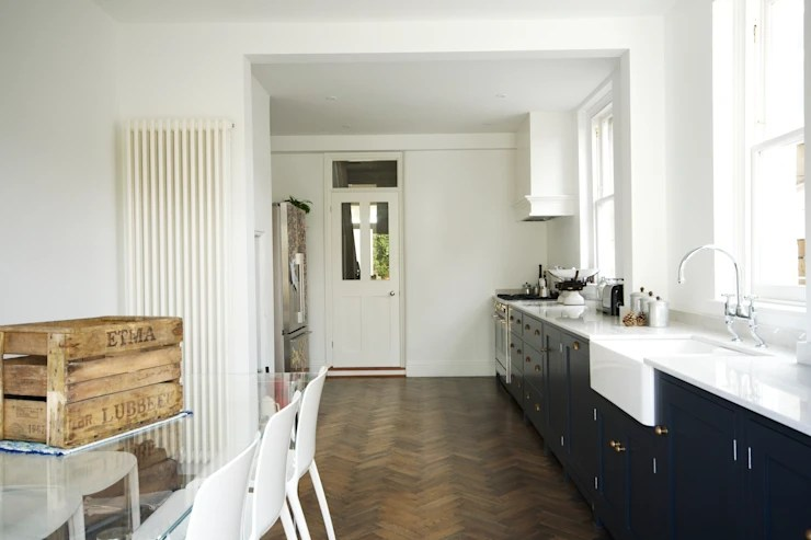 kitchen flooring trends single handle faucet with pullout spray the bath shaker by devol kitchens