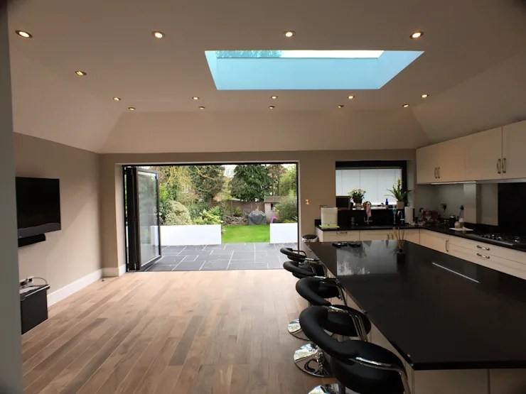 6 m rear extension design and build by Progressive Design London  homify