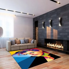 Kitschy Living Room Pop Ceiling Designs For 2016 A Bit Of Kitsch In Your Home Artwork By Colorista Moderna