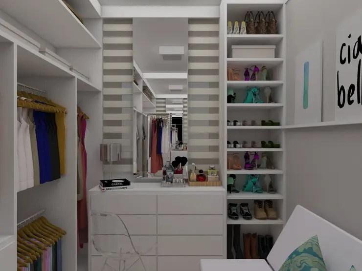 10 sapateiras perfeitas para fazer em um closet