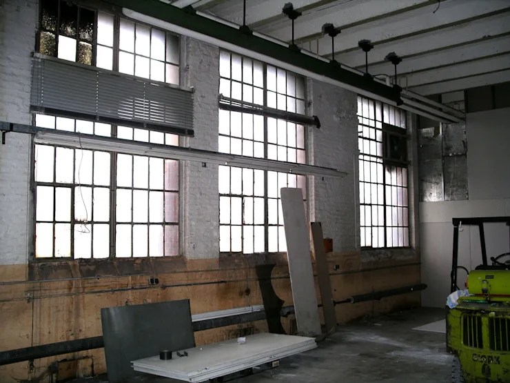Eine alte Fabrikhalle wird zum coolen Loft