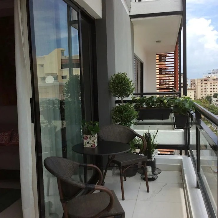 Balcones pequeos y modernos ideas de decoracin