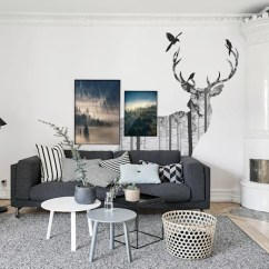 Pictures Of Grey Living Room Walls Ikea Wall Cabinets Working With Colour Ideas Mysterious Woods By Pixers