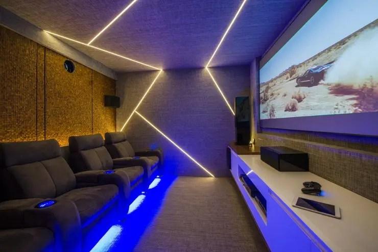 Sala de cine en casa ideas y diseos sensacionales en homify