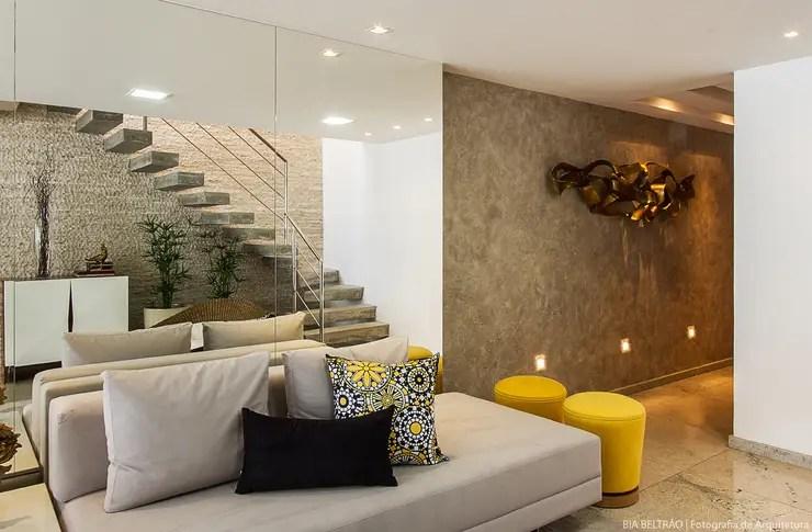 12 Revestimientos modernos para las paredes de tu sala