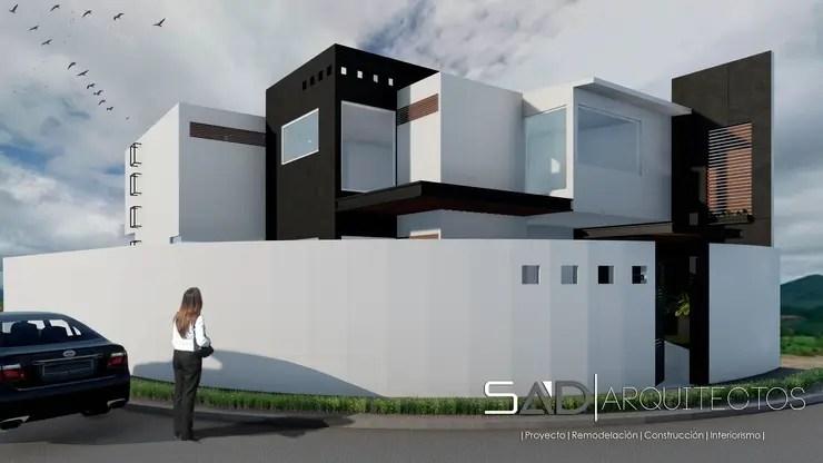 Fachadas de casas estilo industrial y casas tipo loft