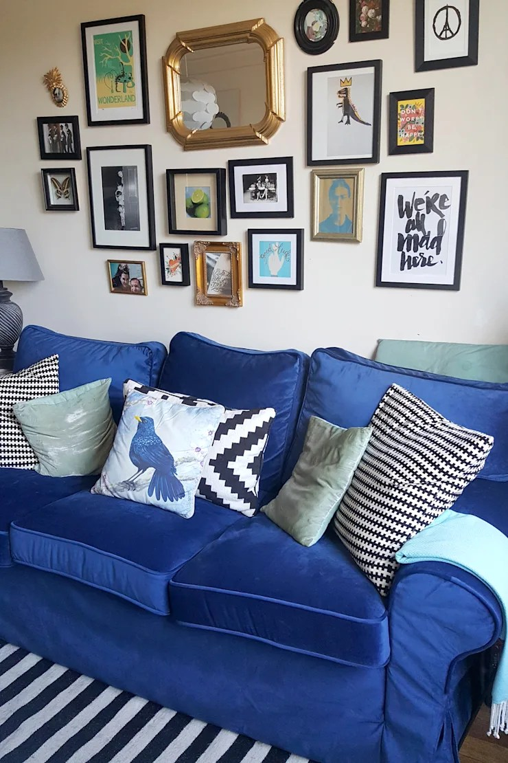 Ikea doesn't sell replacement cushions and i don't believe they are covered by the 10 year warranty. Replacement slipcovers: IKEA Ektorp Sofabed with blue ...