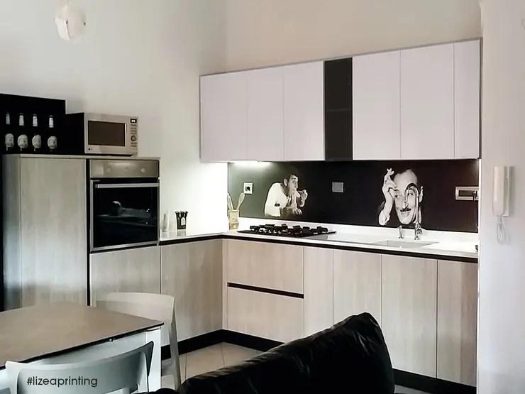 Pannelli schienali retro cucina personalizzati di lizea sas  homify