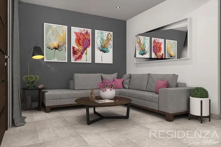 16 salas modernas con color gris como protagonista y se