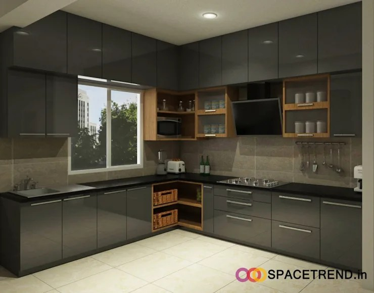 kitchen corner cabinets lemon rug how do i design to optimise space open
