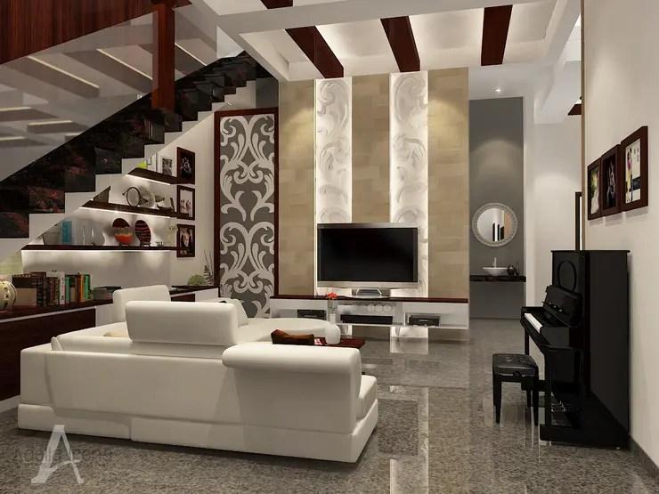 Sentuhan Tradisional di Rumah Modern Dalam Desain Tiga Dimensi