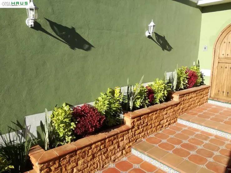 Ms de 20 ideas de jardineras para la entrada y pasillo de
