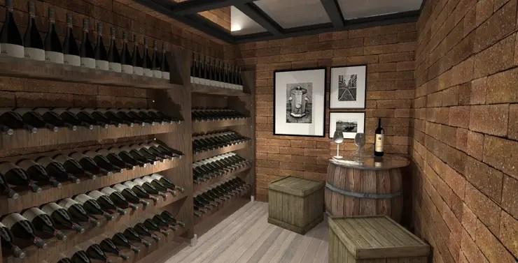 Adegas 10 ideias para guardar ou exibir os seus vinhos