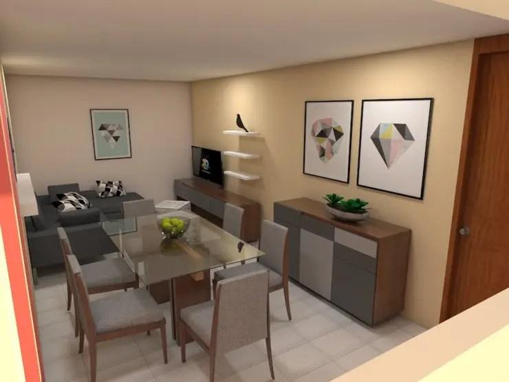 15 salas y comedores pequeos que comparten espacio con estilo
