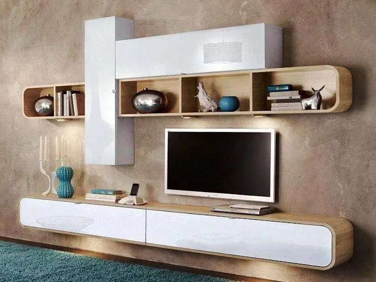 tv unit designs for living room silver wall mirror 9 modern units in your cabinet by innoire design