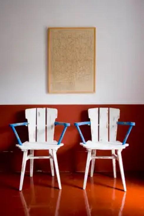 Bed & Breakfast en La Rioja: Paredes y suelos de estilo mediterráneo de Casa Josephine