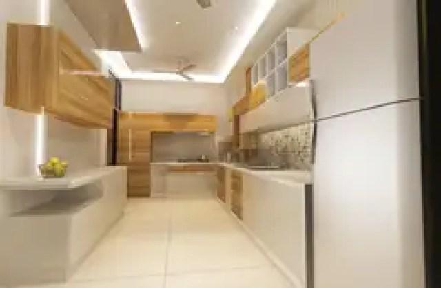 Residence-Pinjaniji: modern Kitchen by KHOWAL ARCHITECTS + PLANNERS