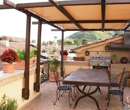 Balcone Veranda  Terrazza in stile rustico  homify
