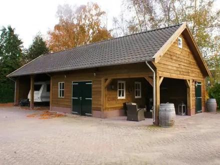 Landelijke Garage & Schuur Ideeën  Homify