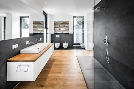 Wohnhaus Koln Junkersdorf Moderne Badezimmer Von Corneille Uedingslohmann Architekten