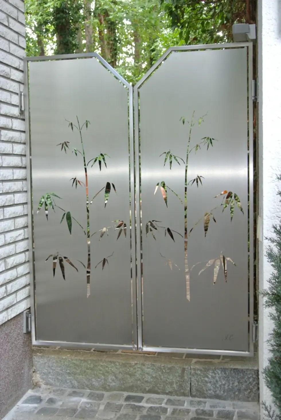 Moderner Garten Bilder Edelstahl Sichtschutz Homify