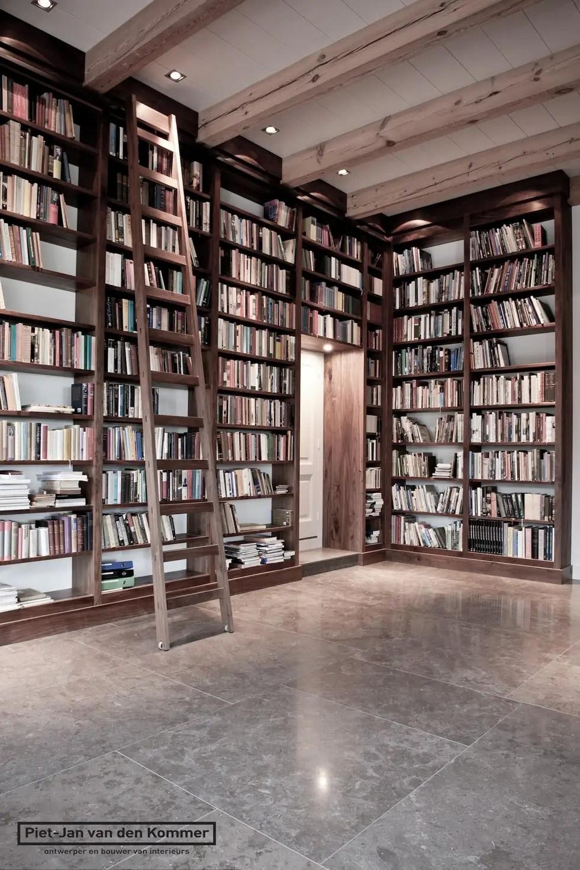 Bibliotheek Woonboerderij Landelijke Mediakamer Door Piet