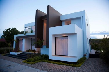 casa casas homify modernas fachadas arquitectura perspectiva moderna moderno colombia pulido camilo estilo fachada modern planos minimalistas exterior principal arquitectos