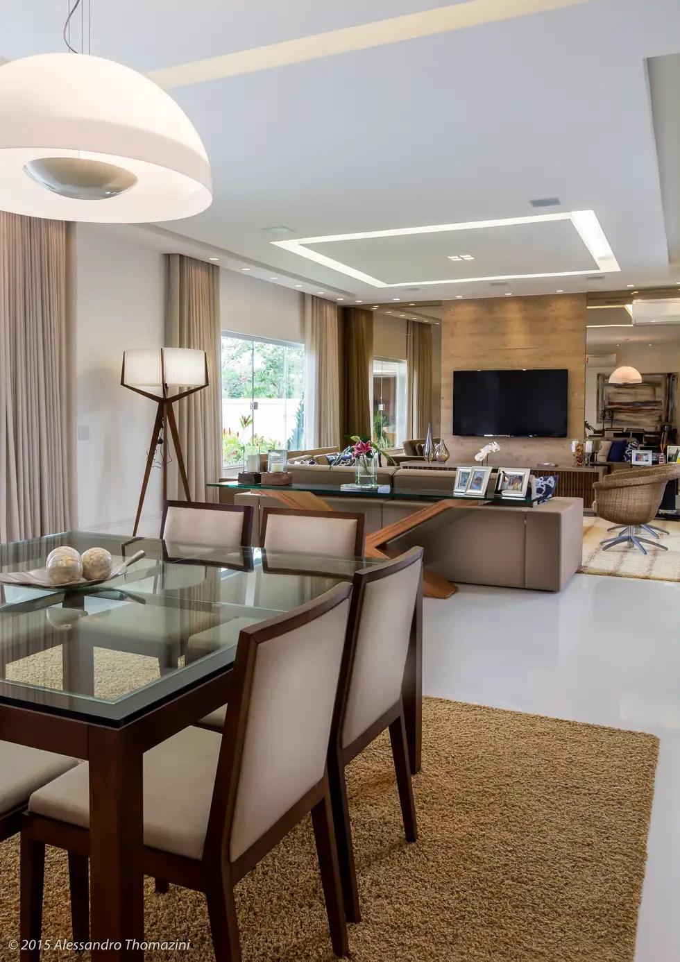 Sala de jantar salas de jantar modernas por adriana leal