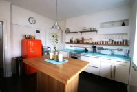 Bespoke 1950's inspired kitchen: eclectic kitchen by ...