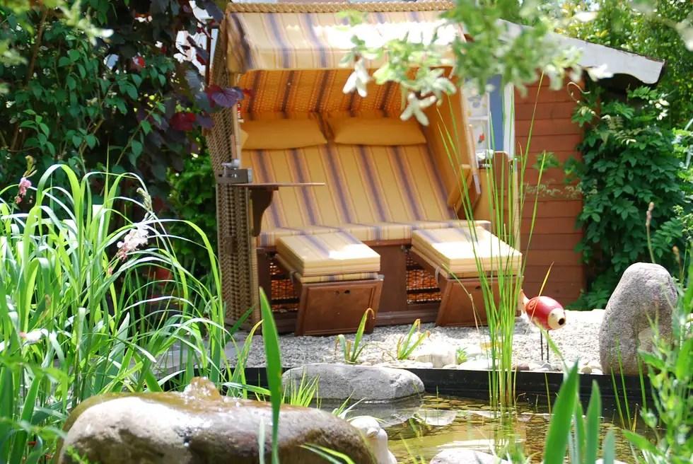 Skandinavischer Garten Bilder Strandkorb Im Wassergarten Homify