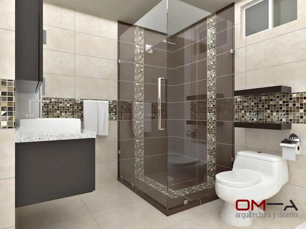 Diseño Interior En Apartamento, Espacio Baño Principal