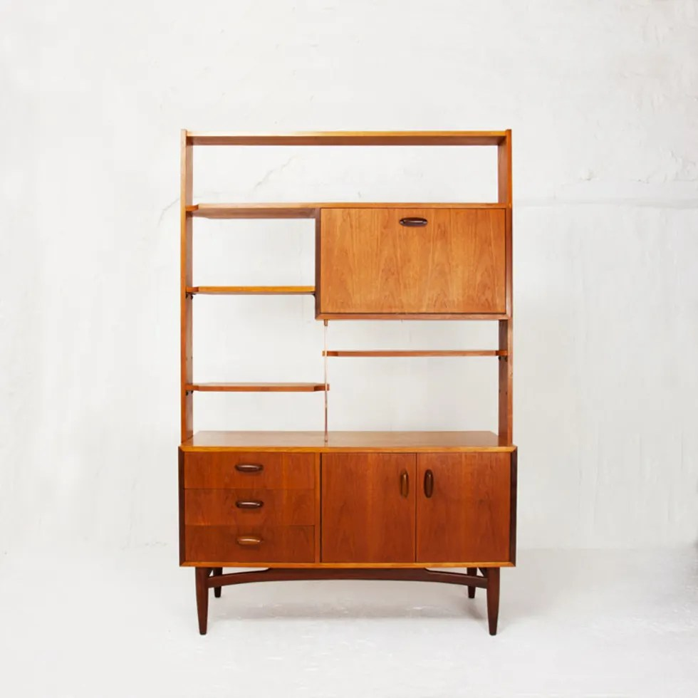Bibliothque Style Scandinave Angles Couleurs Prsentation