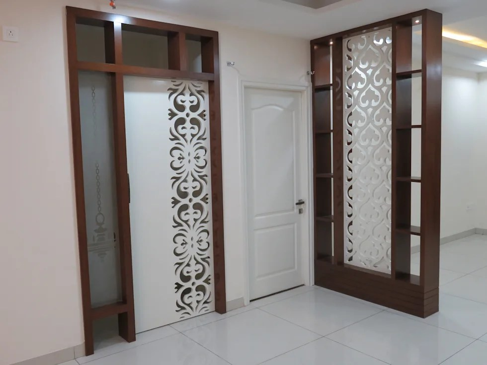 Pooja door modern living room by bluebell interiors  homify