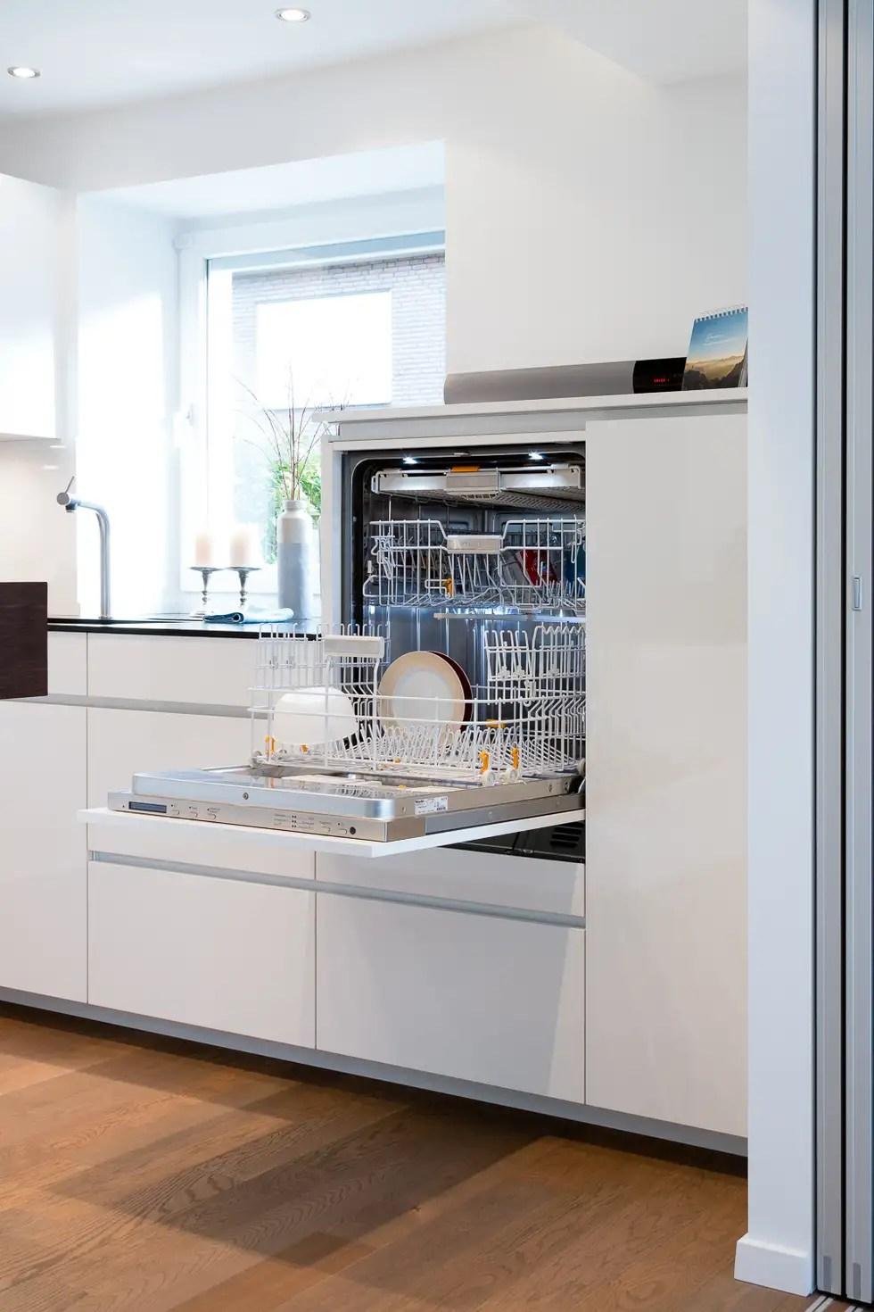 Geschirrspler hochgebaut moderne kche von klocke