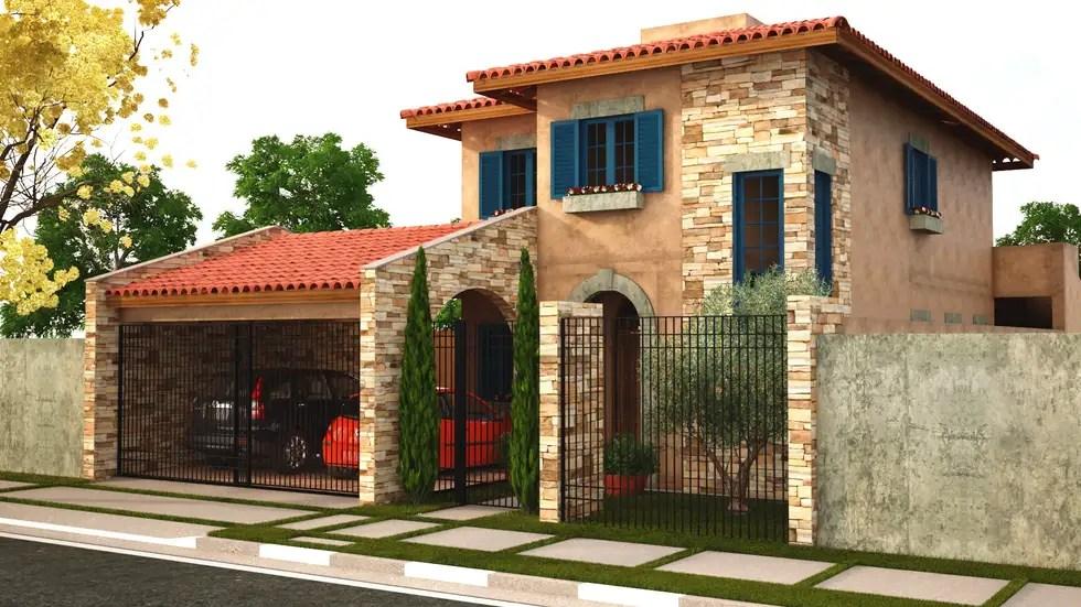 Casa toscana  jd campo belo casas por leonardo morato