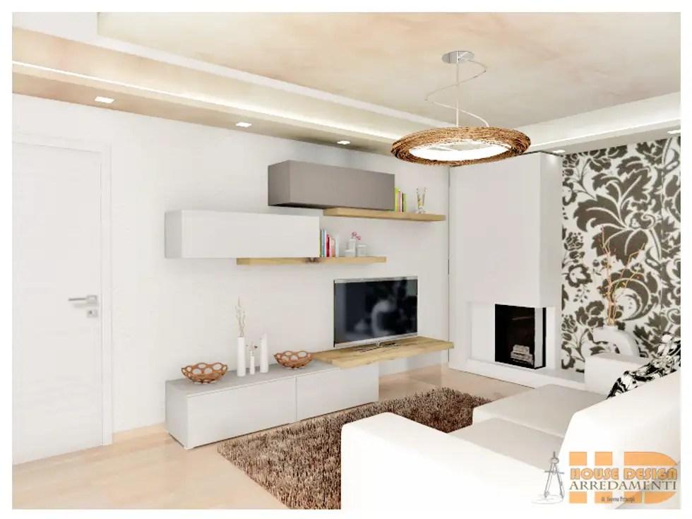 Carta Da Parati Per Soggiorno Classico : Moderno carta di soggiorno interna u design per la casa