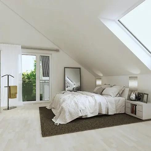 Startseite Design Bilder – Modern Dachgeschoss Schlafzimmer Design ...