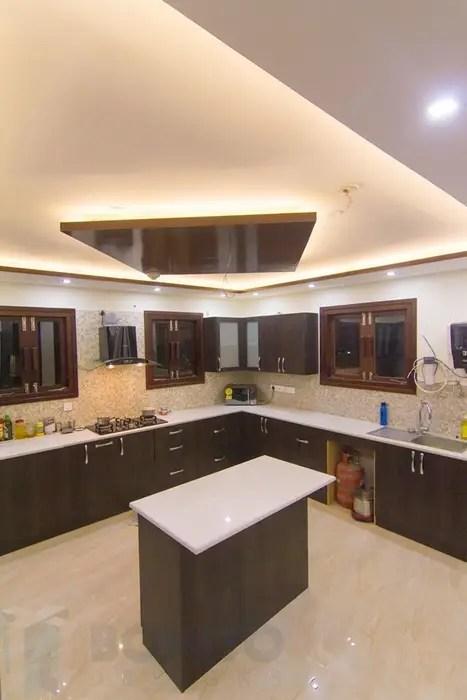 eclectic Kitchen photos: False ceiling design in kitchen