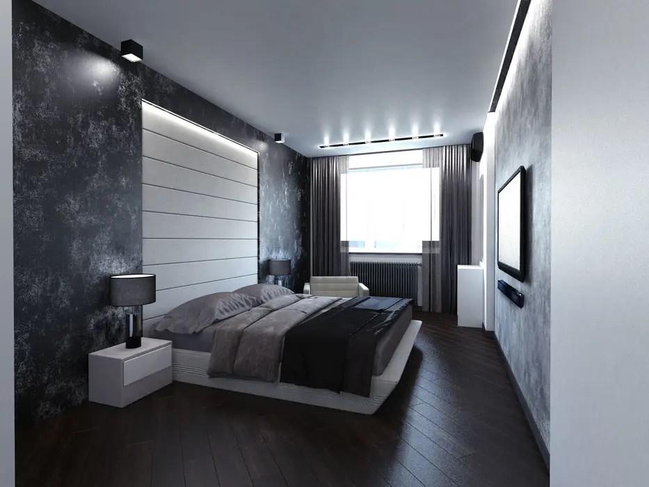 Camere Da Letto Stile Minimalista : Minimalista camera da letto soffio interna foto di camera da