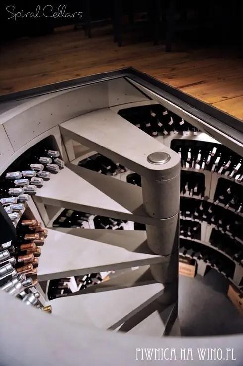 Spiraalvormige Wijnkelders