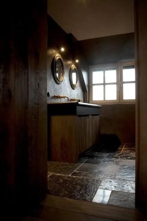 Ideen voor de shabby chique stijl in de badkamer
