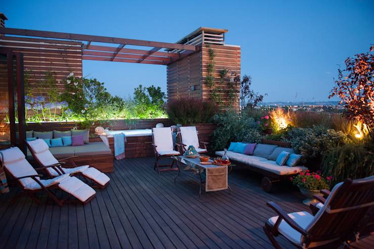 translation missing: us.style.terrace.modern Terrace by Giardini Giordani