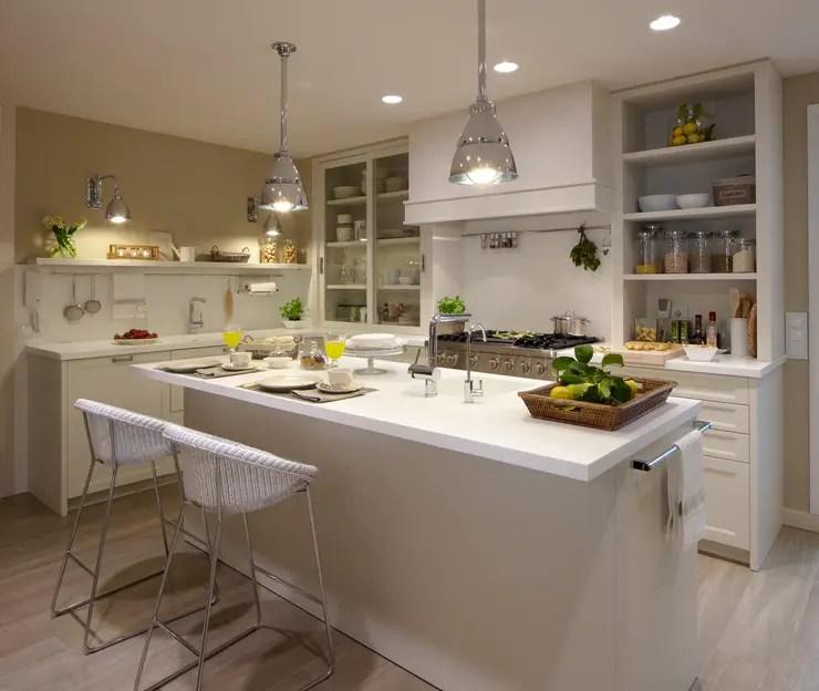 27 ideas para tener una cocina blanca espectacular