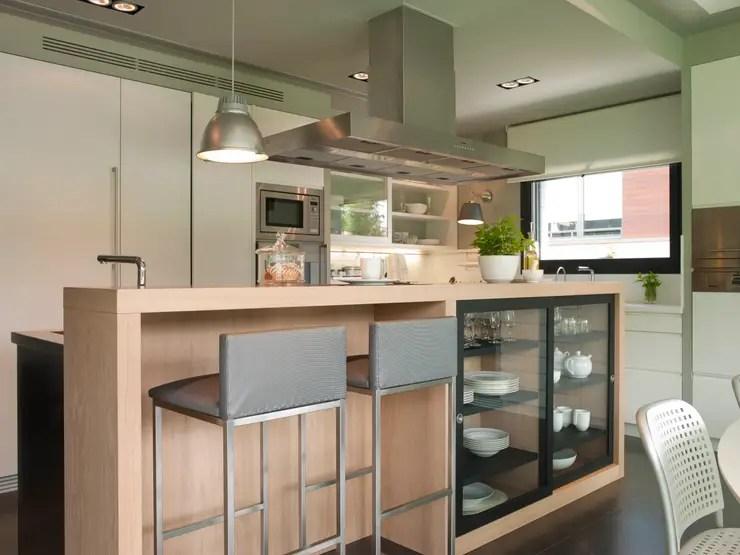 7 fantsticas ideas de barras de cocina