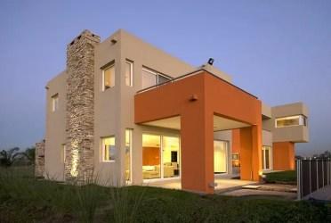casa casas colores fachada fachadas mostaza modernas homify tu estudio estilo tendencias cambian completo pm