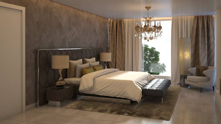 modern Bedroom by Gabriela Afonso