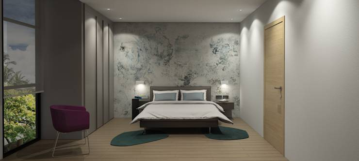 modern Bedroom by MAT Latinamerica