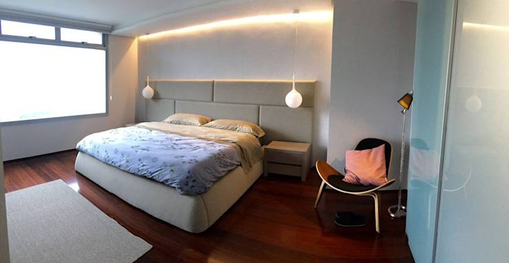 modern Bedroom by THE muebles
