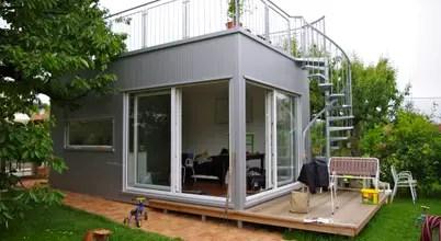 Une Maison Préfabriquées De 22 Mètres Carrés Située à Vienne